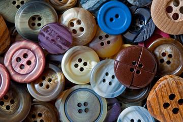 Knopfschachtel / vackground buttons