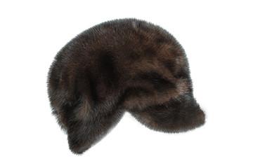 Winter mink cap