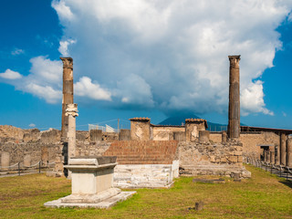 Temple of Apollo in Pompeii