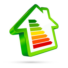 House Icon Energy Green