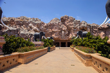 trembling bridge, Sun City, South Africa