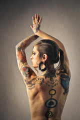 Beauty and tattoos