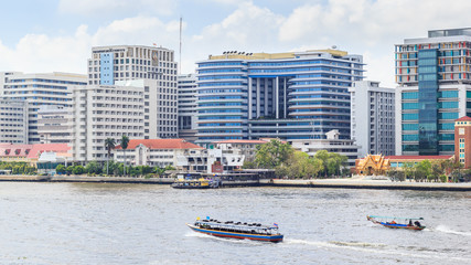 Siriraj hospital is the first hospital and medical shool in Thai