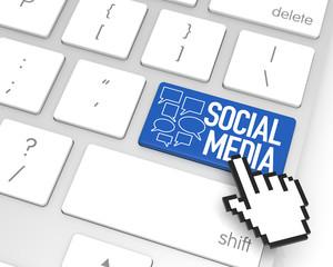 Social Media Enter Key
