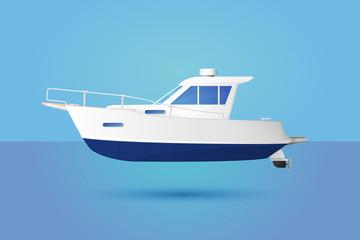 Medium Motor Boat