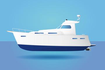 Large Motor Boat