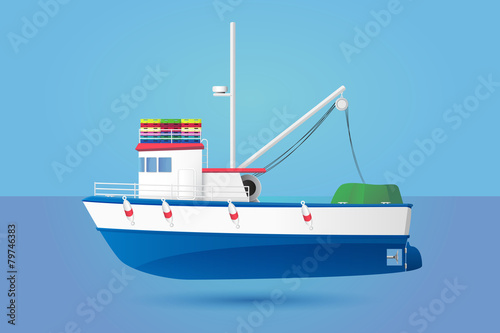 Fishing Boat - 79746383