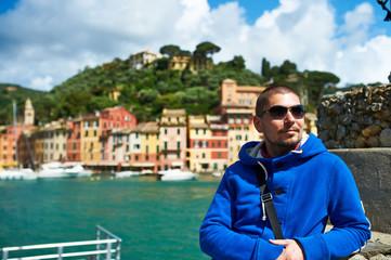 Man at Portofino