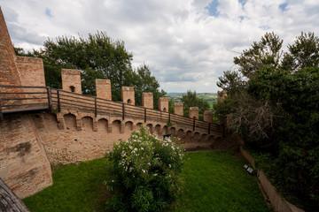 Castello di Gradara, Gradara, Pesaro e Urbino, Marche, Italia