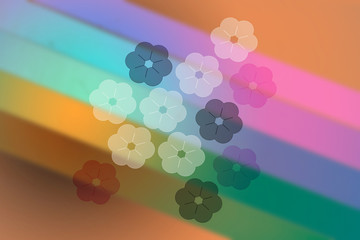 Abstract floral flower plant background colour