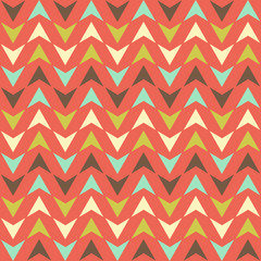 Bright abstract tiny triangles seamless pattern background