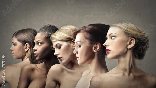 Leinwandbild Motiv Women