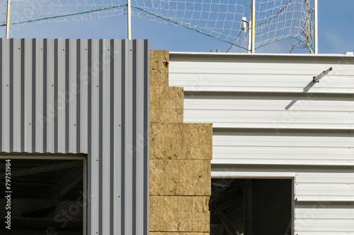 isolation bâtiment industrielle - 79751984
