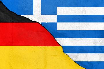 Bruch zwischen Deutschland und Griechenland