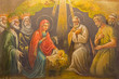 Jeruselem - fresco of Nativity in The  Greek Orthodox Church - 79755158