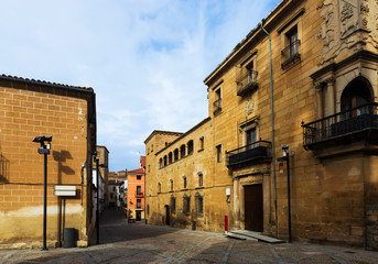 Old streets at  Plasencia