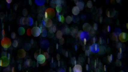 Blurred abstract motion background, bokeh. 4K UHD 2160p footage.