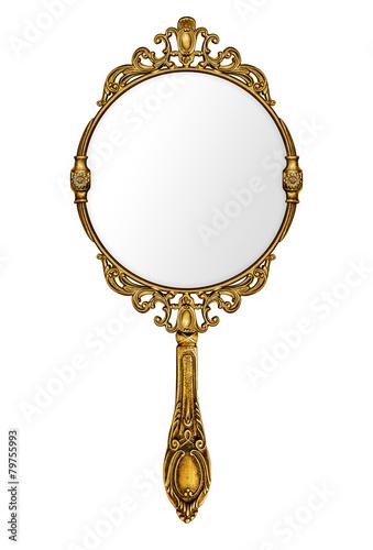 Vintage hand mirror - 79755993