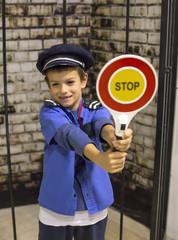 Policeman boy