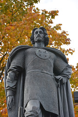 Monument to the Alexander Nevsky, the famous Russian grand duke