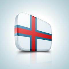 Faroe Islands button