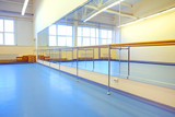 The interior of the dance studio