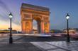 Leinwanddruck Bild - l'Arc de triomphe.