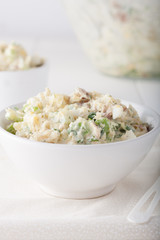 fresh homemade potato salad