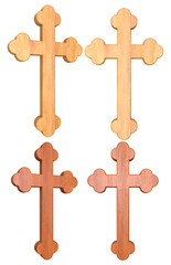 Wooden Cross 3D Set 1