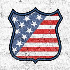 Illustration of United States emblem
