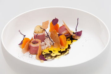 Duck Breast - Apple - Carrot