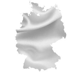 ドイツ 地図 シルエット