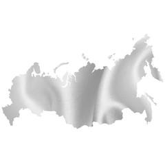 ロシア 地図 シルエット