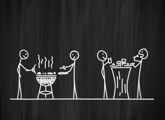 tafel mk grillparty II