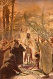 Paint of entry of Jesus in Jerusalem (Palm Sanday). - 79765145