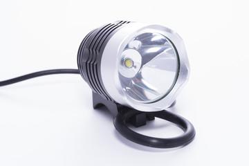 Linterna LED para bicicletas.