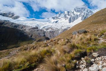 Peru - Tawllirahu peak in Cordillera Blanca