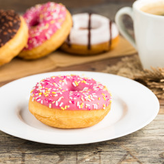 Donut und Kaffee - Donut and coffee