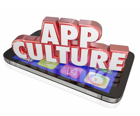 App Culture 3d Words Cell Mobile Phone Download Applications Sof