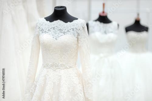 Beautiful wedding dresses - 79768158