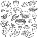 Collection of food - 79769936