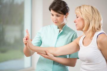 Rehabilitation after wrist injury
