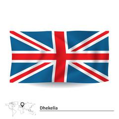 Flag of Dhekelia