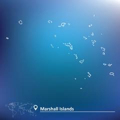 Map of Marshall Islands