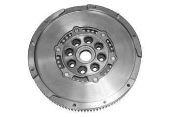 Flywheel car