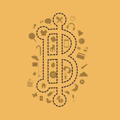 baht  symbol