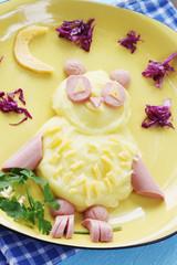 Owl of potatoes