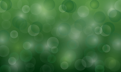 vector background with shimmering circles