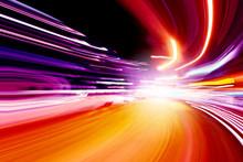 """Постер, картина, фотообои """"speed motion"""""""