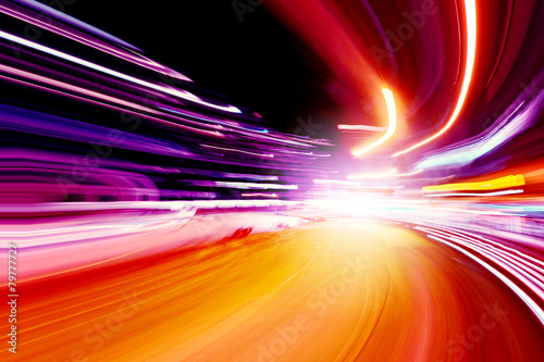 canvas print picture speed motion